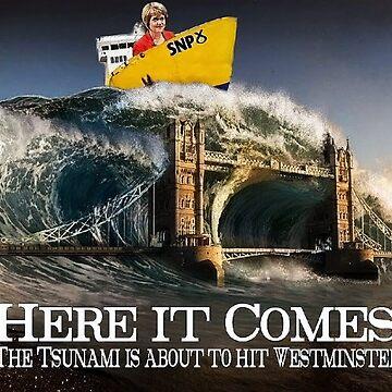 Scottish Independence SNP Tsunami 2015 by DavidBaker