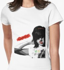 Grr? Womens Fitted T-Shirt