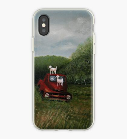 PLAYTIME, Acrylic Painting, for prints and products  iPhone Case