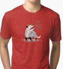 """I AM GOOD KITTY"" Design Tri-blend T-Shirt"