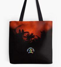 Morning Chat with Apau Hawaii Tours Tote Bag
