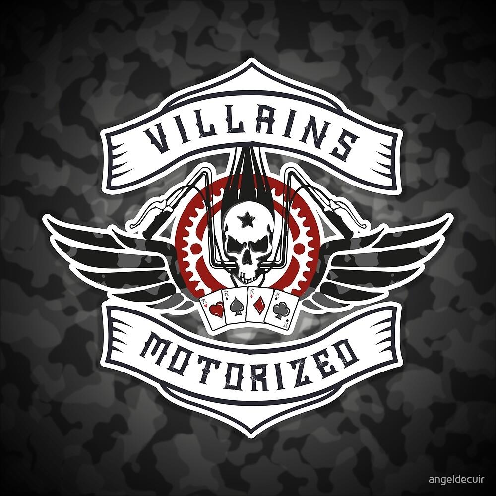 Villains Motorized by angeldecuir
