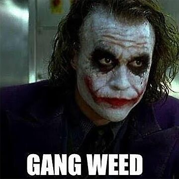 Gang Weed We live in a society by youngweezing