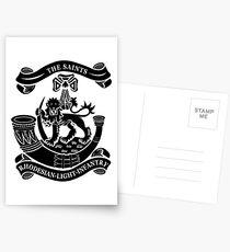 Rhodesian Light Infantry Postcards