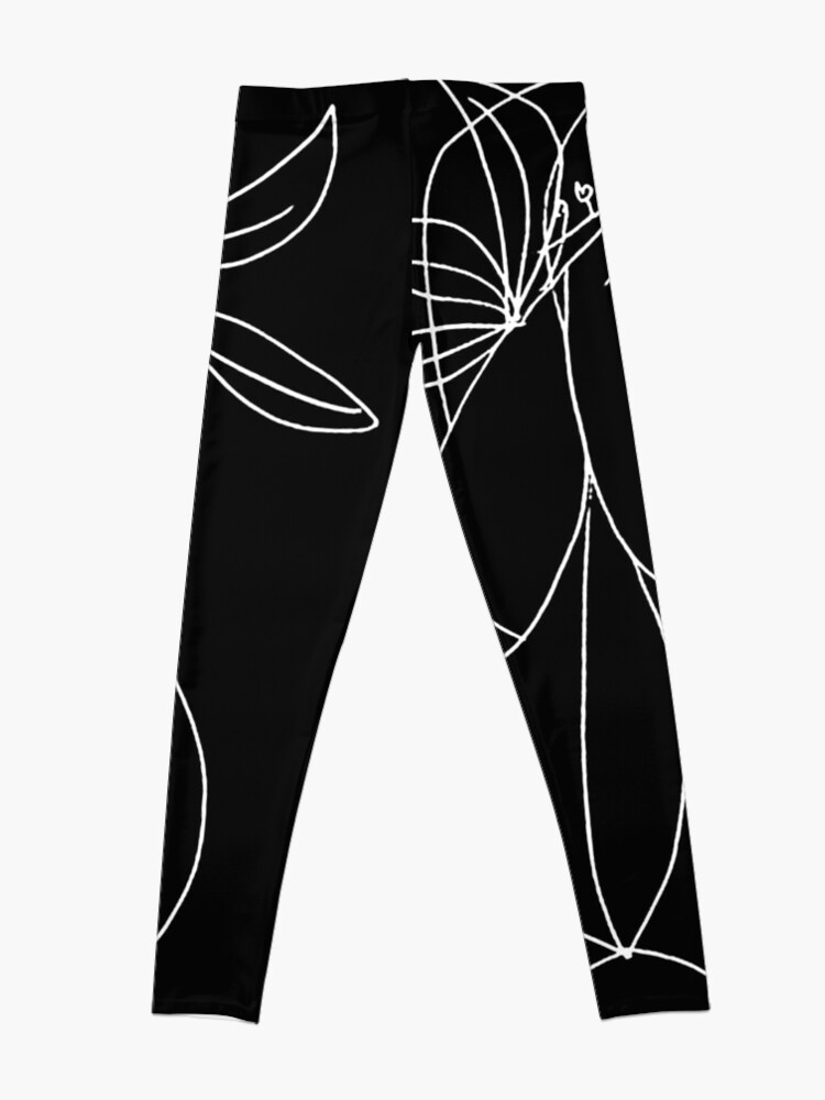 Alternate view of HEAD : Vintage 1946 Young Girl Silhouette Print by Picasso Leggings