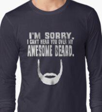 Awesome Beard Long Sleeve T-Shirt