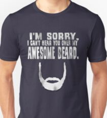Awesome Beard Unisex T-Shirt