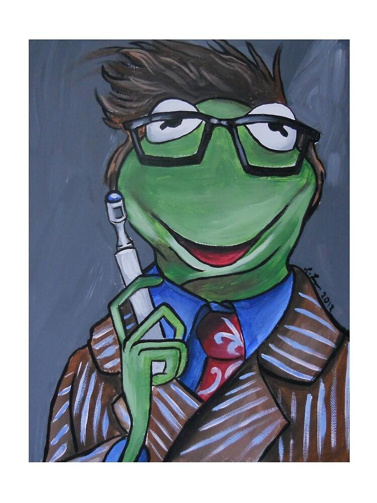 Kermit, Tenth Doctor by lissyleem