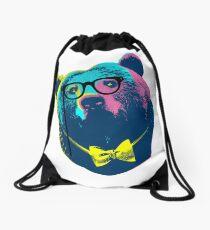 Pop Art I (Papa Bear) Drawstring Bag
