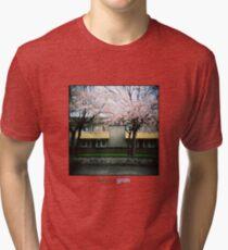 Holga Blossom Tri-blend T-Shirt