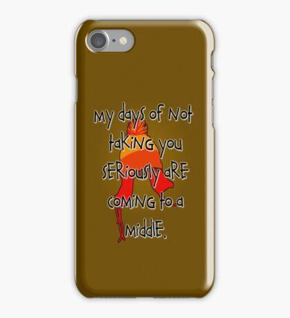 Taken Seriously iPhone Case/Skin