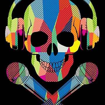 Retro Skull by clingcling