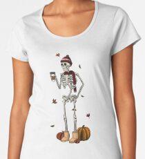 Basic til I Die Premium Scoop T-Shirt