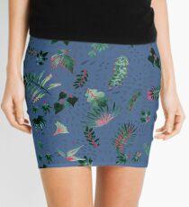 Inky Leaves Mini Skirt
