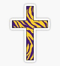 Louisiana Cross Sticker