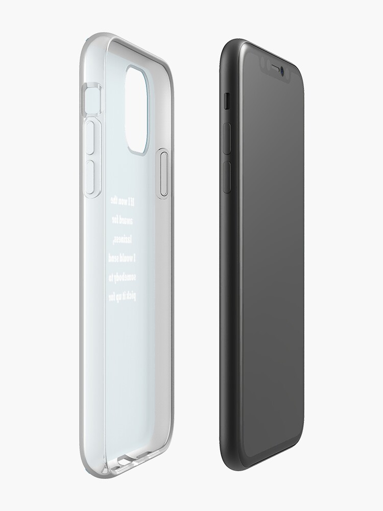 Coque iPhone « Prix ​​de la paresse - Funny Quote Design », par abdullah-ayyash