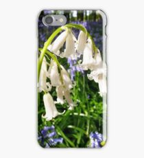 Bride in the Bluebell Wood iPhone Case/Skin