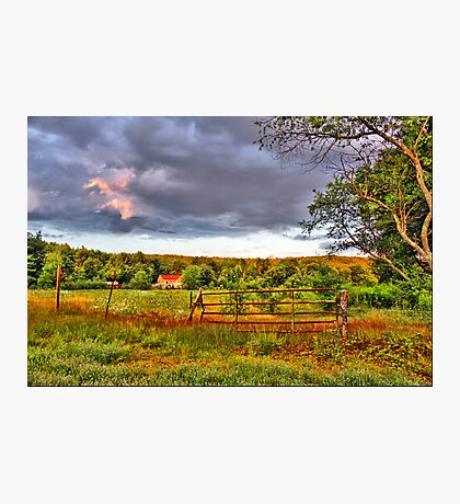 New England countryside Fotodruck