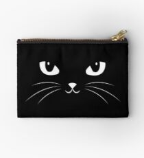 Cute Black Cat Studio Pouch