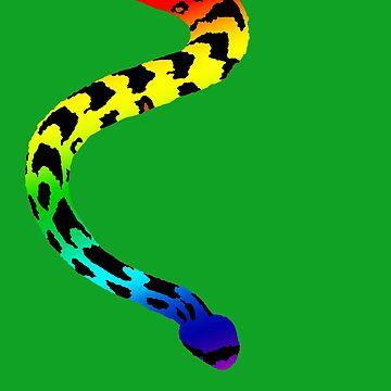 Rainbow Snake by FroghavenFarm