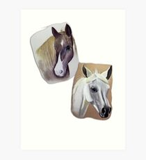 'Horses' Art Print