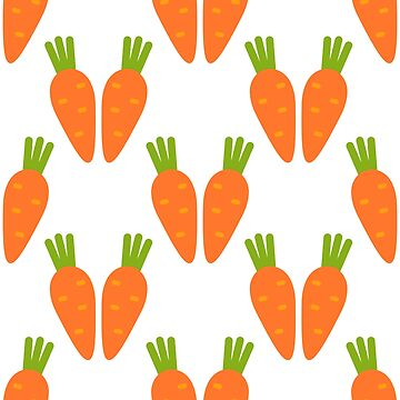 carrot seamless pattern by zizimentos