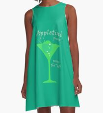 Appletini A-Line Dress