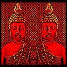 Duality - Red Buddha by DesJardins