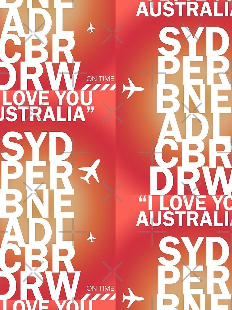 I love you Australia. Crown Victoria vers. by Aviators