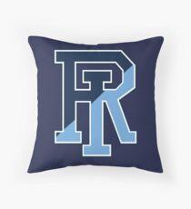 Rhode Island Rams Throw Pillow