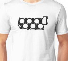 VR6 Cylinder Head (Black Print) Unisex T-Shirt
