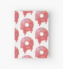 Texture Iced Donut Hardcover Journal