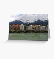 Innsbruck Inn view Greeting Card