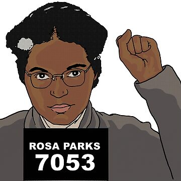 Rosa Parks by xcharls1