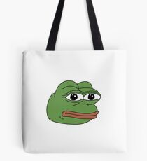 Funny PEPE meme products Tote Bag