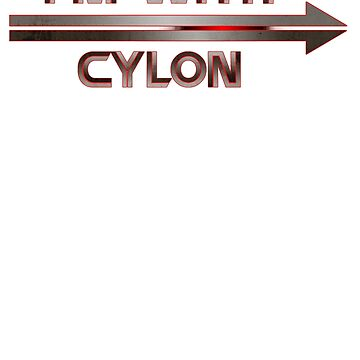 I'm With Cylon (2nd variant) by Galit