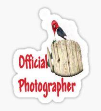 Professional Photographer Sticker