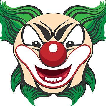 Clown Face by devaleta