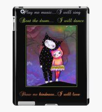 Original Cat Love art by ANGIECLEMENTINE WORDS iPad Case/Skin