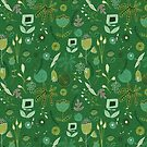 Emerald Forest #homedecor  by susycosta