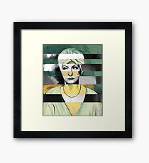"Matisse's Lady with a Turban"" & Greta Garbo Framed Print"