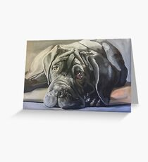 Mastino Napoletano Greeting Card