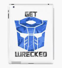 Get Wrecked iPad Case/Skin