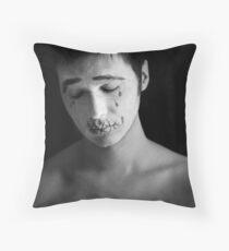 Poor Pierrot Throw Pillow