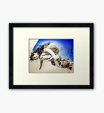 #8 Framed Print