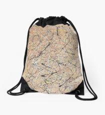 Calligraphy Drawstring Bag