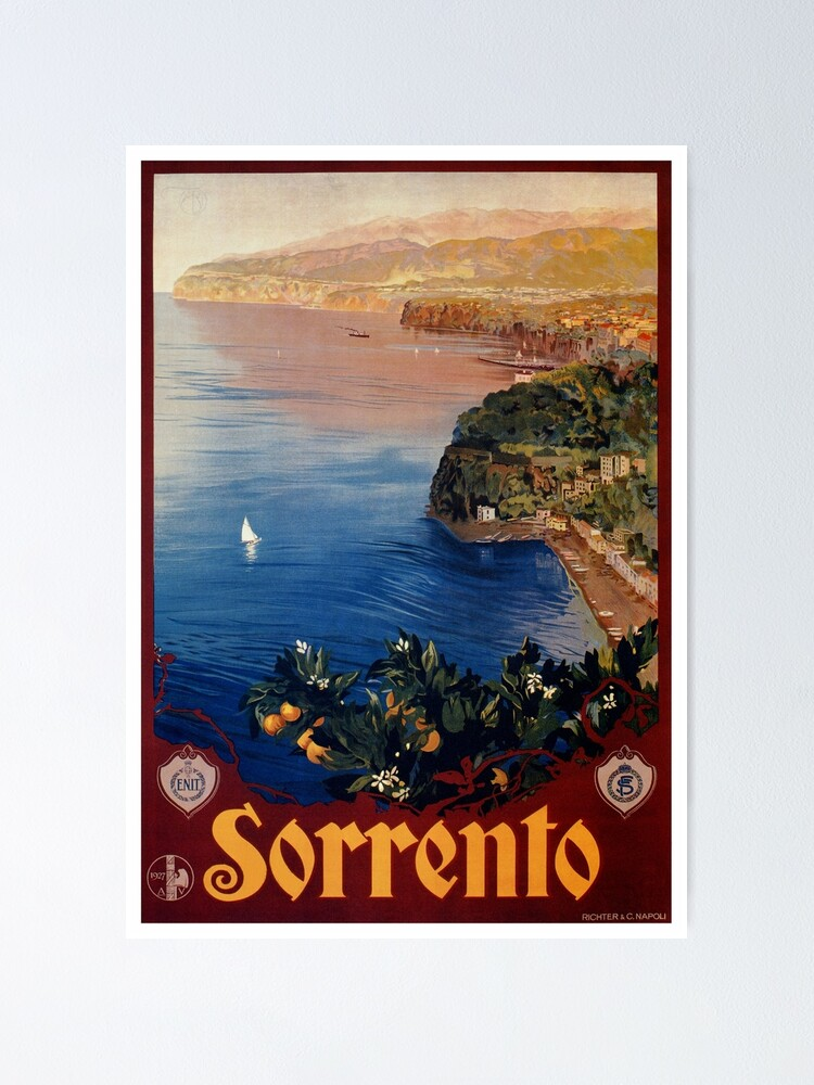 Image result for Sorrentine Peninsula in Campania has views of Naples, Vesuvius and the Isle of Capri.