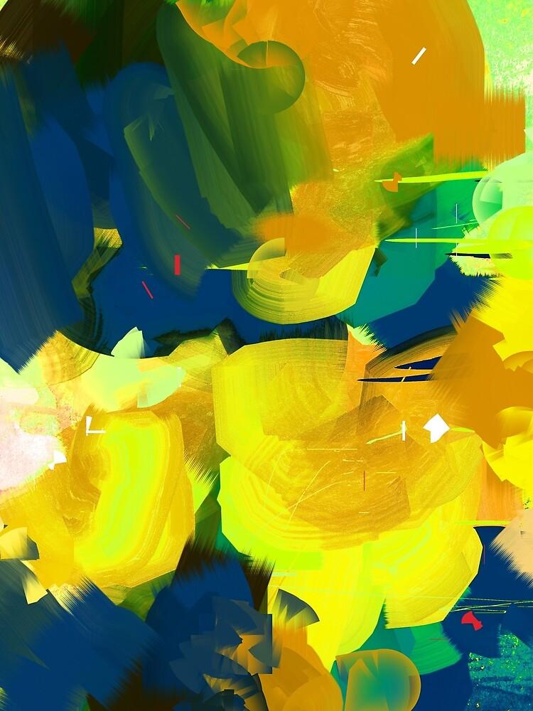 Summer #Abstract #Flowers by nileshkikuchise