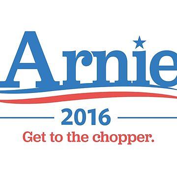 Arnie For President 2016 – Schwarzenegger, Arnold, Bernie Sanders parody by fandemonium