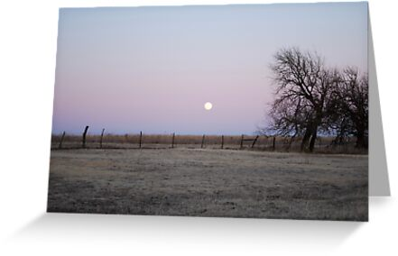 Moonrise in Kansas by Suz Garten
